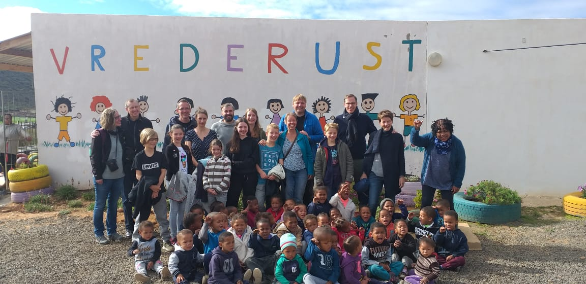 vrederust school is the school we support